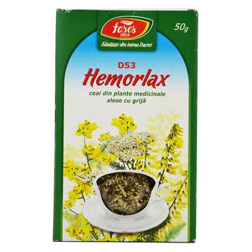 Ceai Hemorlax (D53) 50g FARES