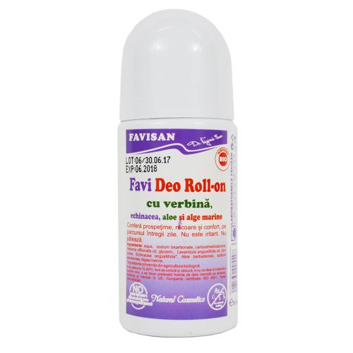 Favi Deo Roll-on cu verbina 50ML Favisan