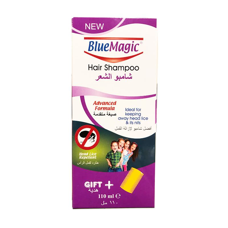 Sampon impotriva paduchilor Blue Magic 110ML + pieptan TOBRA
