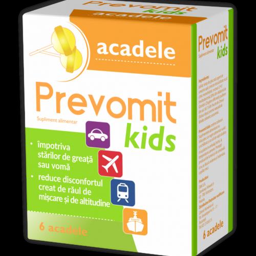 Prevomit Kids 6 acadele impotriva raului de miscare ZDROVIT
