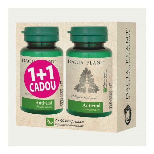 Antiviral 60 cpr 1+1 Cadou DACIA PLANT