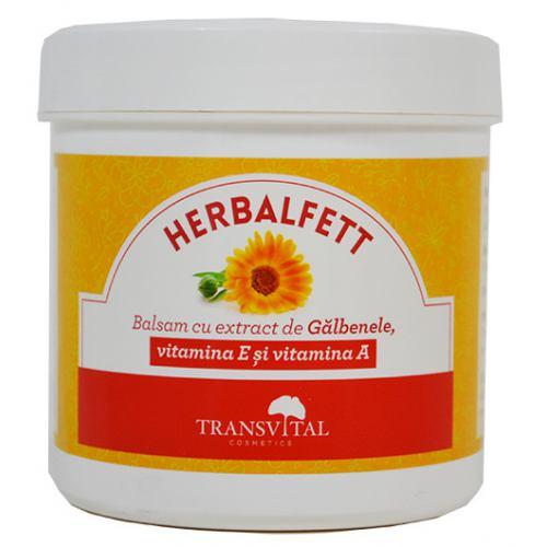 Balsam cu galbenele, vitamina E si vitamina A 250ml Transvital