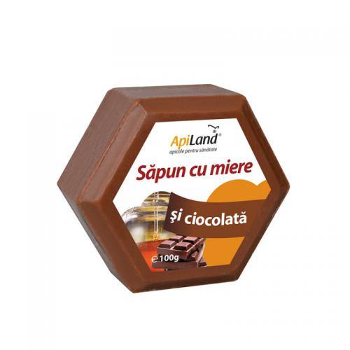 Sapun cu miere si ciocolata 100G APILAND