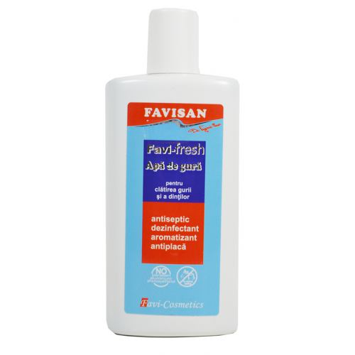 Apa de gura antiseptica FaviFresh 250ML FAVISAN