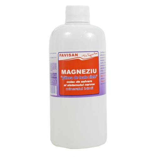 Magneziu 500ML FAVISAN