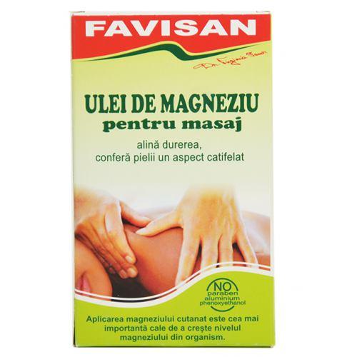 Ulei de magneziu pentru masaj 125ML FAVISAN