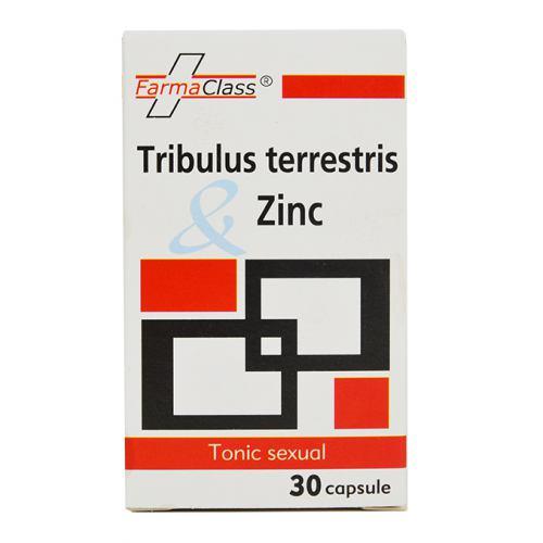 Tribulus terrestris si Zinc 30 CPS FARMACLASS