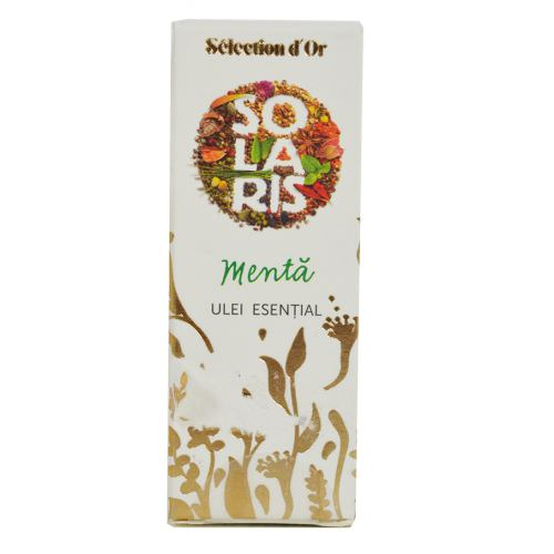 Ulei esential Selection D'or Menta 5ML SOLARIS