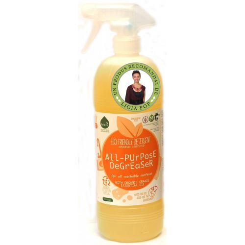 Detergent uz general cu ulei de portocale 1L BIO HOLISTIC