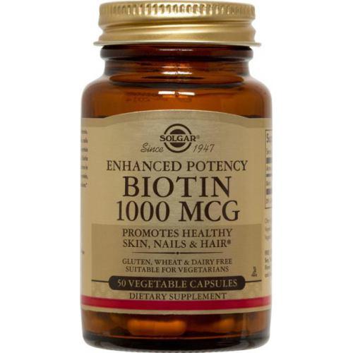 Biotin 1000MG 50CPS SOLGAR