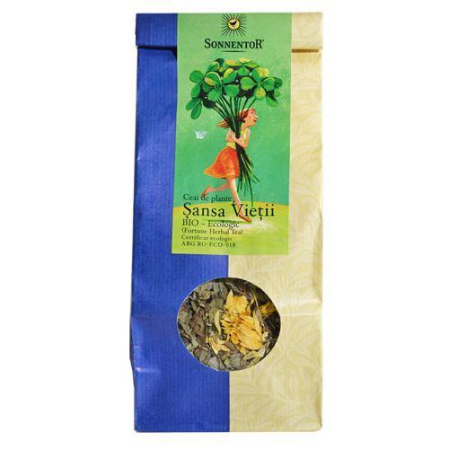 Ceai de plante eco Sansa Vietii 50G SONNENTOR