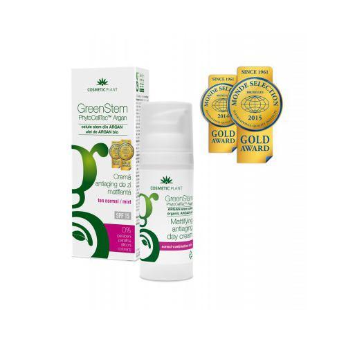 Crema GreenStem antiaging de zi SPF 15 50ML COSMETIC PLANT