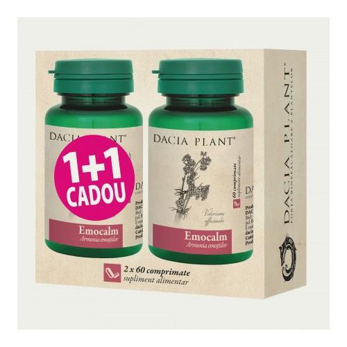 Emocalm 60 cpr 1+1 Cadou DACIA PLANT