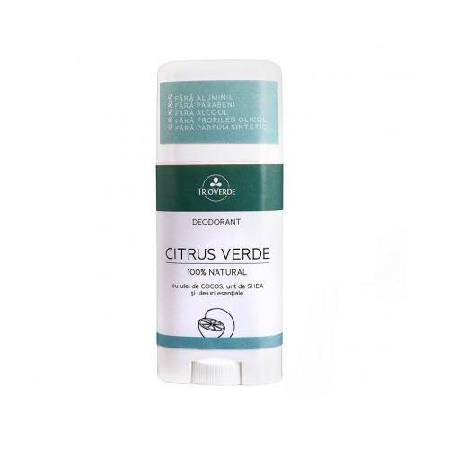 Deodorant natural cu citrus verde 70G TRIO VERDE