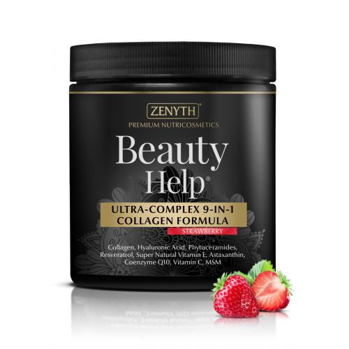 Beauty Help pudra cu aroma de capsuni 300G ZENYTH