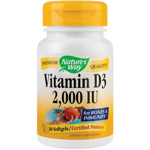 Vitamin D3 2000UI 30CPS SECOM