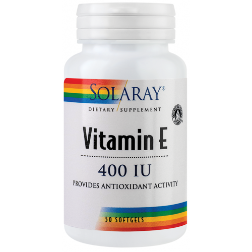 Vitamina E 400UI 50CPS SECOM