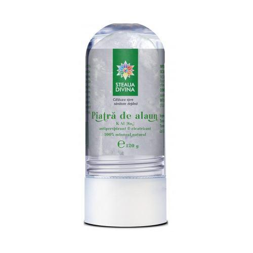 Deodorant Piatra de Alaun 120G STEAUA DIVINA