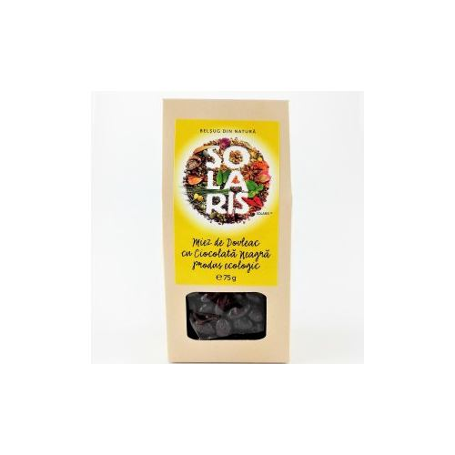 Miez de dovleac cu ciocolata neagra 75G SOLARIS