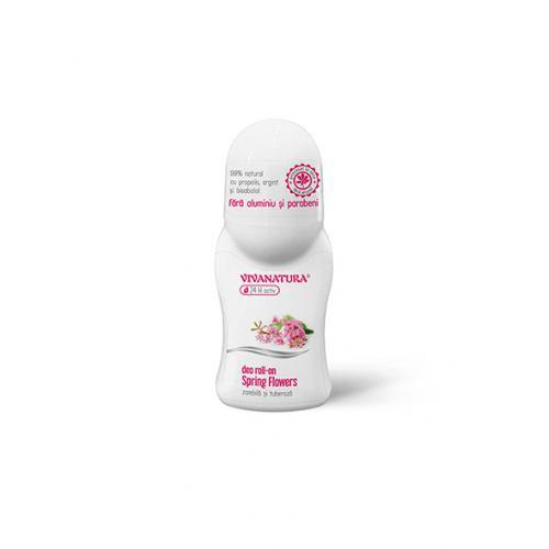 Deodorant roll on Spring Flowers 50ML VIVANATURA