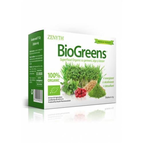 BioGreens 28 plicuri ZENYTH