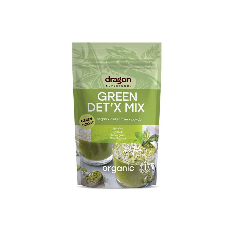 Green Detox mix raw 200G DRAGON SUPERFOODS