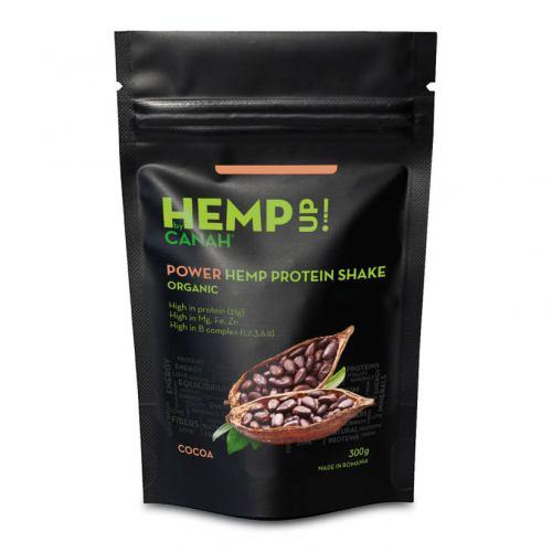 Shake proteic de canepa si cacao 300G CANAH