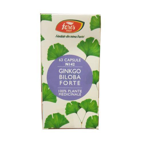 Ginkgo Biloba Forte N142 63CPS FARES