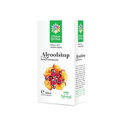 Alcool Stop Tinctura 50 ml Steaua Divina