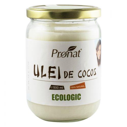 Ulei de cocos RBD bio 500ML PRONAT