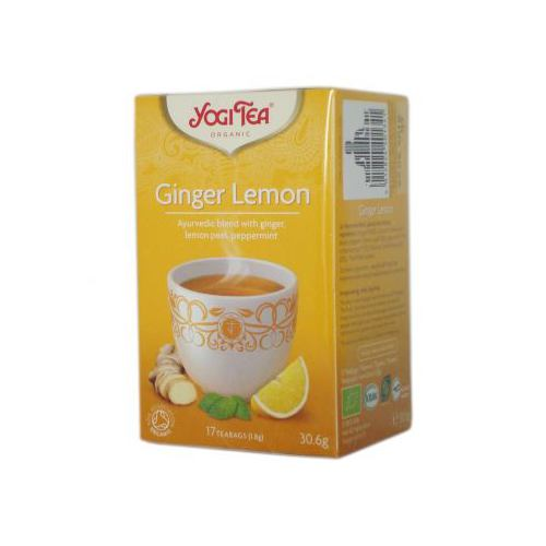 Ceai bio ghimbir si lamaie 17DZ YOGI TEA