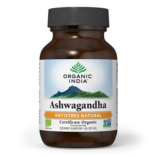 Ashwagandha 60CPS ORGANIC INDIA