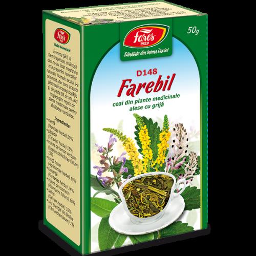 Ceai Farebil D148 50G FARES