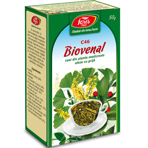Ceai Biovenal C46 50G FARES