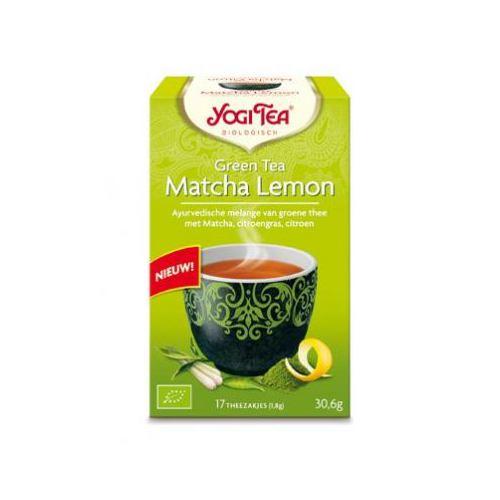 Ceai bio verde cu matcha si lamaie 17DZ YOGI TEA