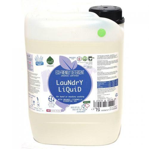 Detergent ecologic lichid pentru rufe albe si colorate 5L BIOLU