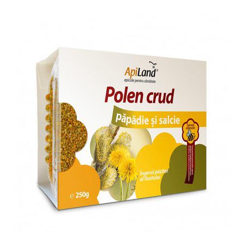 Polen crud papadie si salcie 250G APILAND