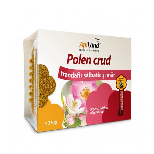 Polen crud trandafir salbatic si mar 250G APILAND