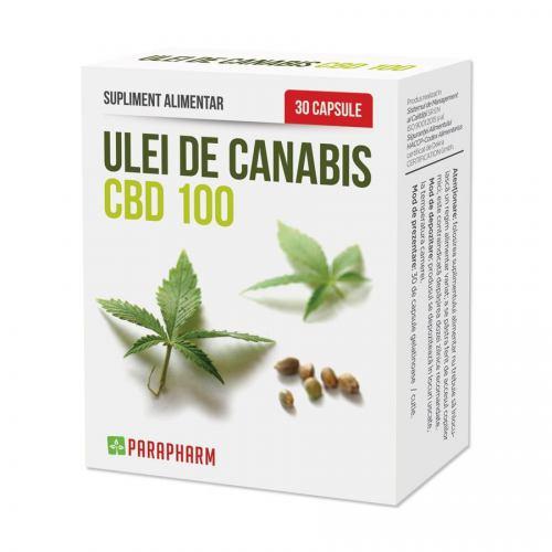Ulei de canabis CBD 100 30CPS PARAPHARM