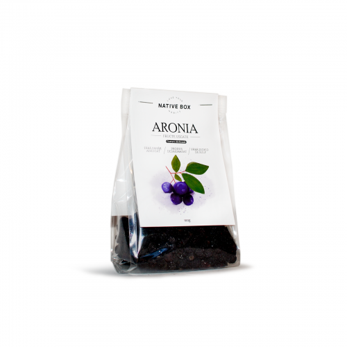 Aronia fructe uscate 100G NATIVE BOX