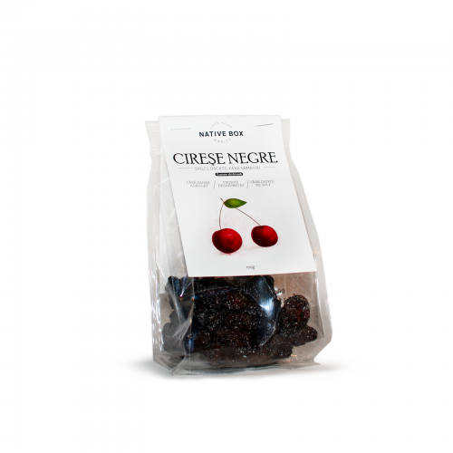 Cirese negre uscate 100G NATIVE BOX