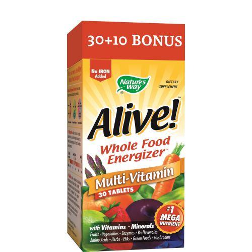 Alive (fara fier adaugat) 30TB + 10TB CADOU NATURE'S WAY