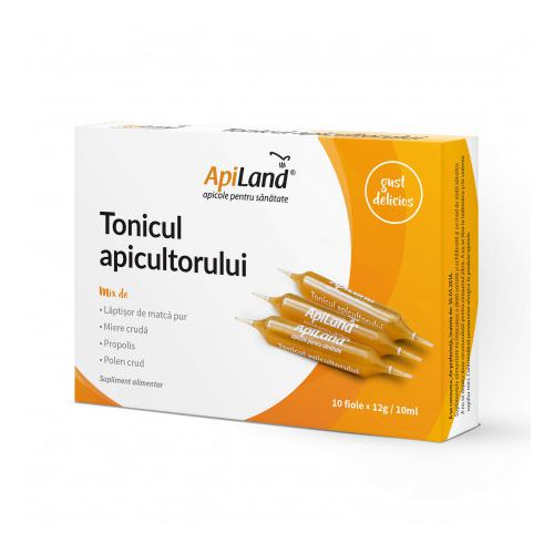 Tonicul Apicultorului 10 fiole APILAND