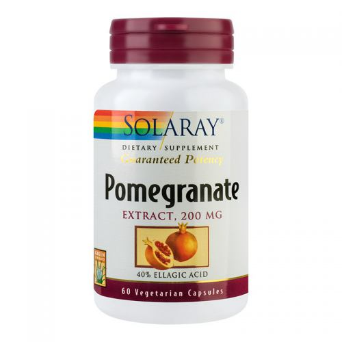 Pomegranate (rodie) 200MG 60CPS SOLARAY