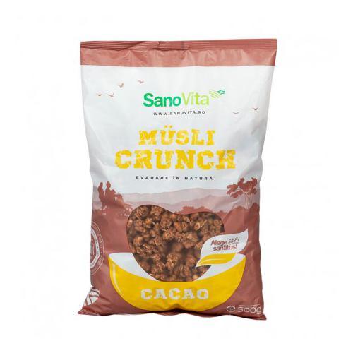 Musli crunch cu cacao 500G SANOVITA