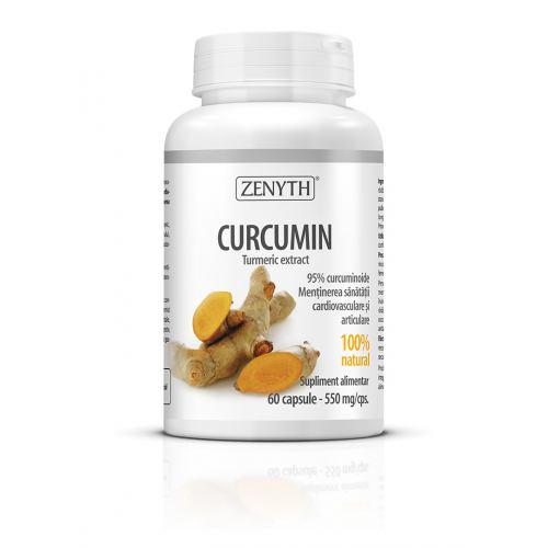 Curcumin 95 550MG 60CPS ZENYTH