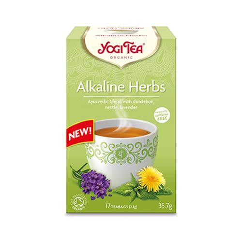 Ceai bio din plante alcaline 17DZ YOGI TEA