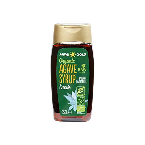 Sirop de agave dark crud bio 350G MAYA GOLD