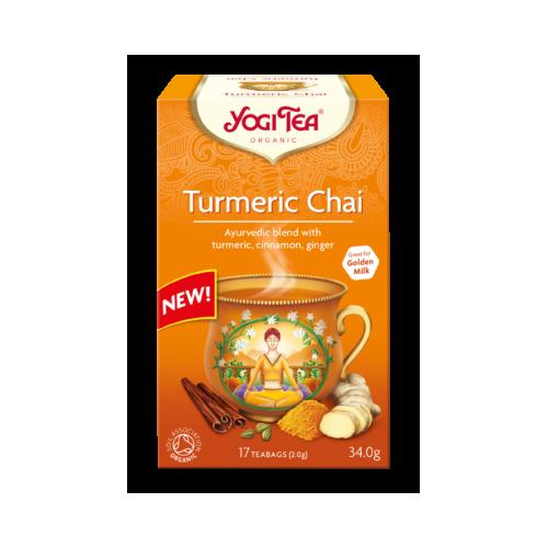 Ceai de turmeric bio 17DZ YOGI TEA