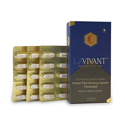 Extract ginseng rosu 300MG 30CPS LAVIVANT
